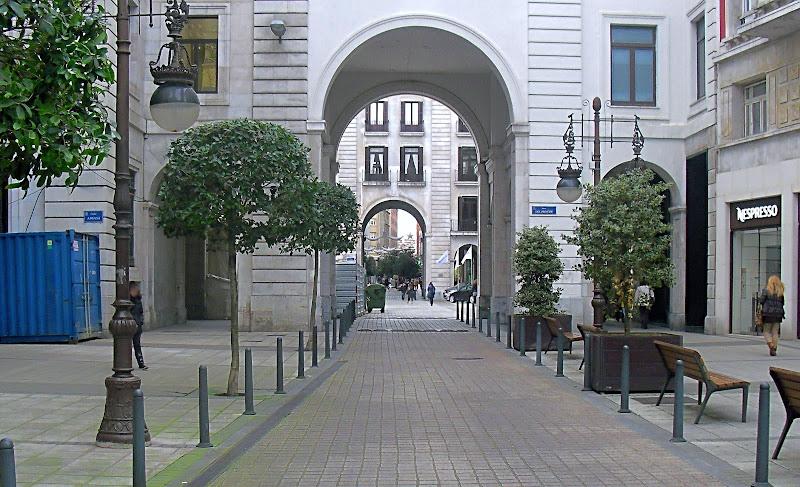 Plaza del Principe en Santander
