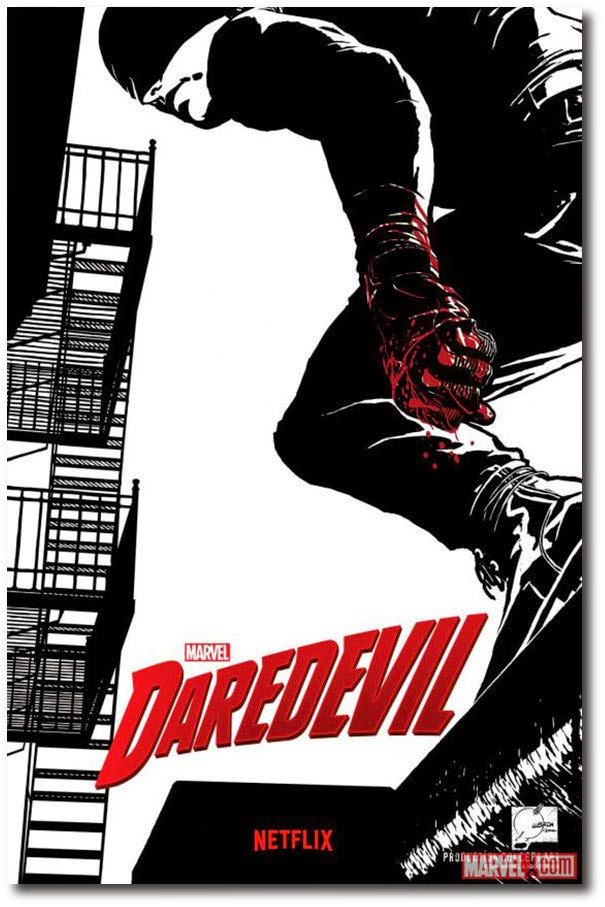 "Netflix ""Daredevil"" TV show poster"
