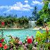 Rock World 2.0: 3D Butterflies Over Waterfall:Free Screensaver for PC