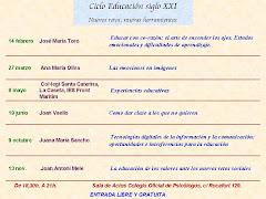 Ciclo Educación Siglo XXI 2012