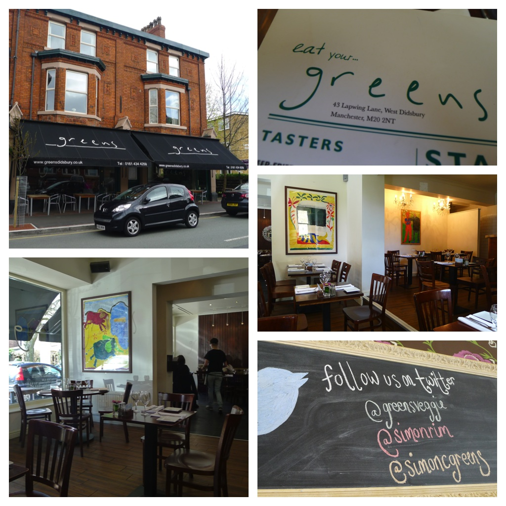Nicest Places To Eat Near Me: HUNGRY HOSS: Simon Rimmer's Greens, Didsbury