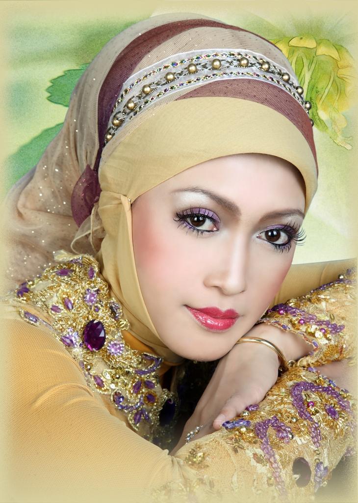 make up pengantin muslimah