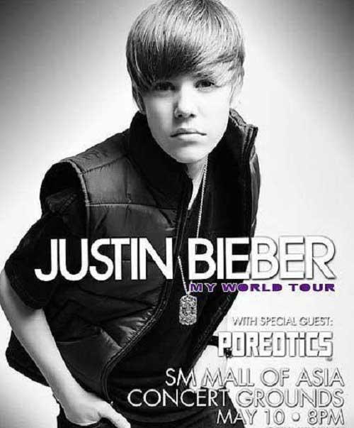 justin bieber live in singapore. Justin Bieber Live in Manila