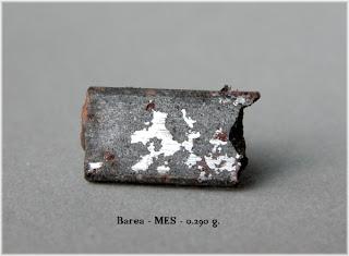 Fotografía de un trozo de la mesosiderita de Varea