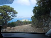 The mountain roads of Zakynthos