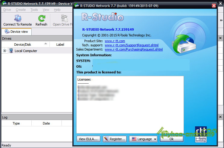 R-Studio 7.7 Build 159562 + Network Edition