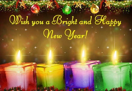 wishing you a new year rich with the blessings of love joy warmth and laughter happy new year 2016