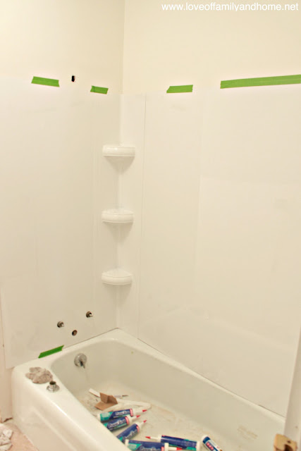 Tub Surround Installation Tutorial