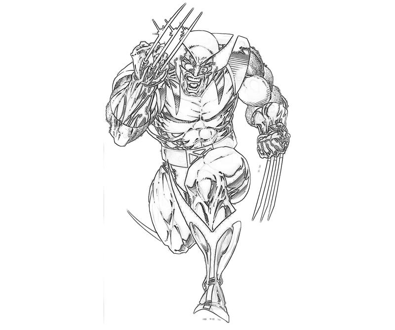 printable-marvel-vs-capcom-wolverine-coloring-pages