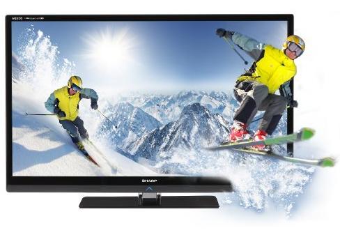 SHARP TV LED 60 inch Aquos LC-60LE631M