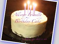 gluten free vegan birthday cake