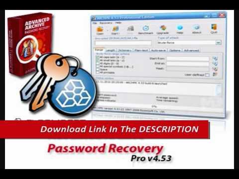 Advanced кряк password recovery ключ rar.