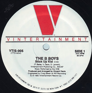 B-Boys, The - Stick Up Kid (Vinyl, 12\'\' 1985)(Vintertainment)