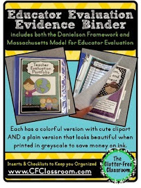Teacher Evaluation Binders Made Easy
