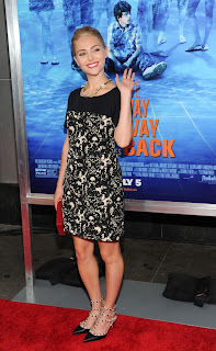 Anna sophia Robb at the way way back premiere