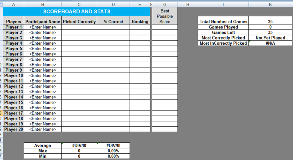excel spreadsheets help  updated 2011 ncaa college football bowl sheet