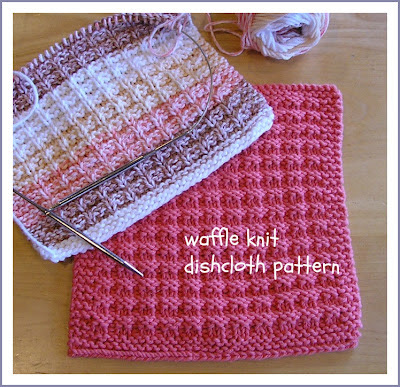 here is the direct link for waffle knit dishcloth pattern this pattern
