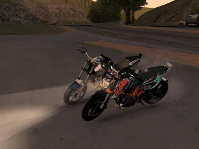 GTA SA : KTM 690 Stunt