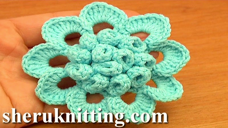 Crochet Snowdrop Flower Pattern Tutorial : Sheruknitting: Crochet Flower Patterns Tutorial 76