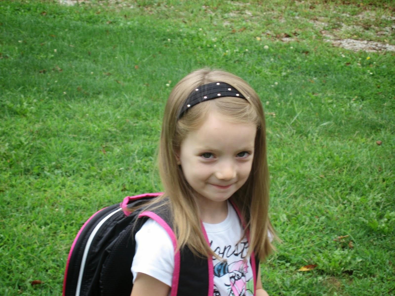 Miss Brooklyn starts school
