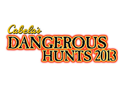 Cabela's Most Dangerous Hunts 2013 Logo - We Know Gamers