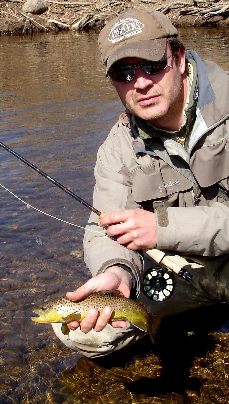 Colorado fly fishing reports boulder creek in town for Colorado fly fishing reports