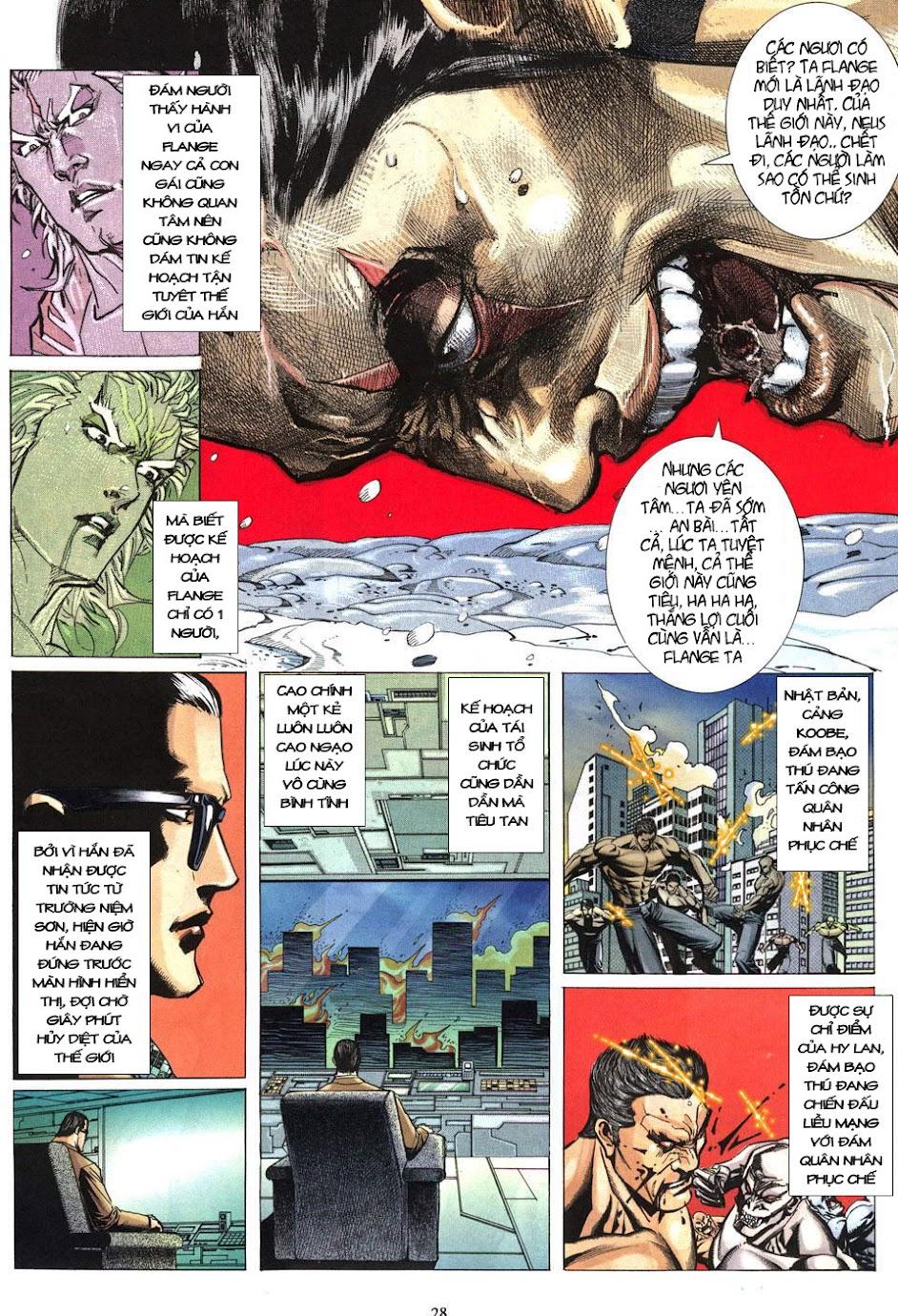 Phong Lôi chap 40 - Trang 29