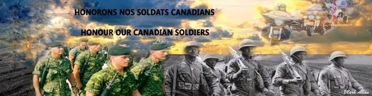 HONORONS NOS SOLDATS CANADIENS