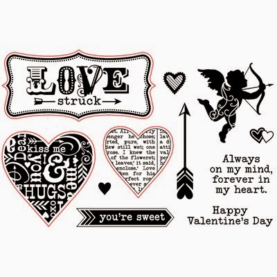Forever in My Heart stamp set