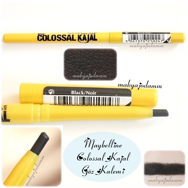siyah akmayan göz kalemi