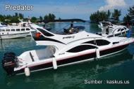 speed boat dari marina ancol