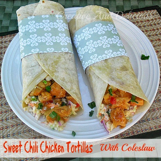 Creative and Delicious: Sweet Chili Chicken Tortillas with ...