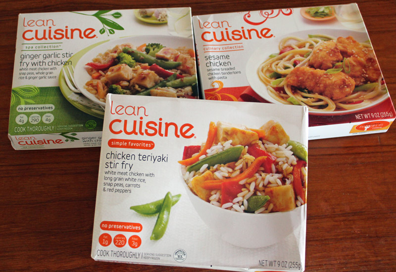 Couch to 5k with lean cuisine for Are lean cuisine meals healthy