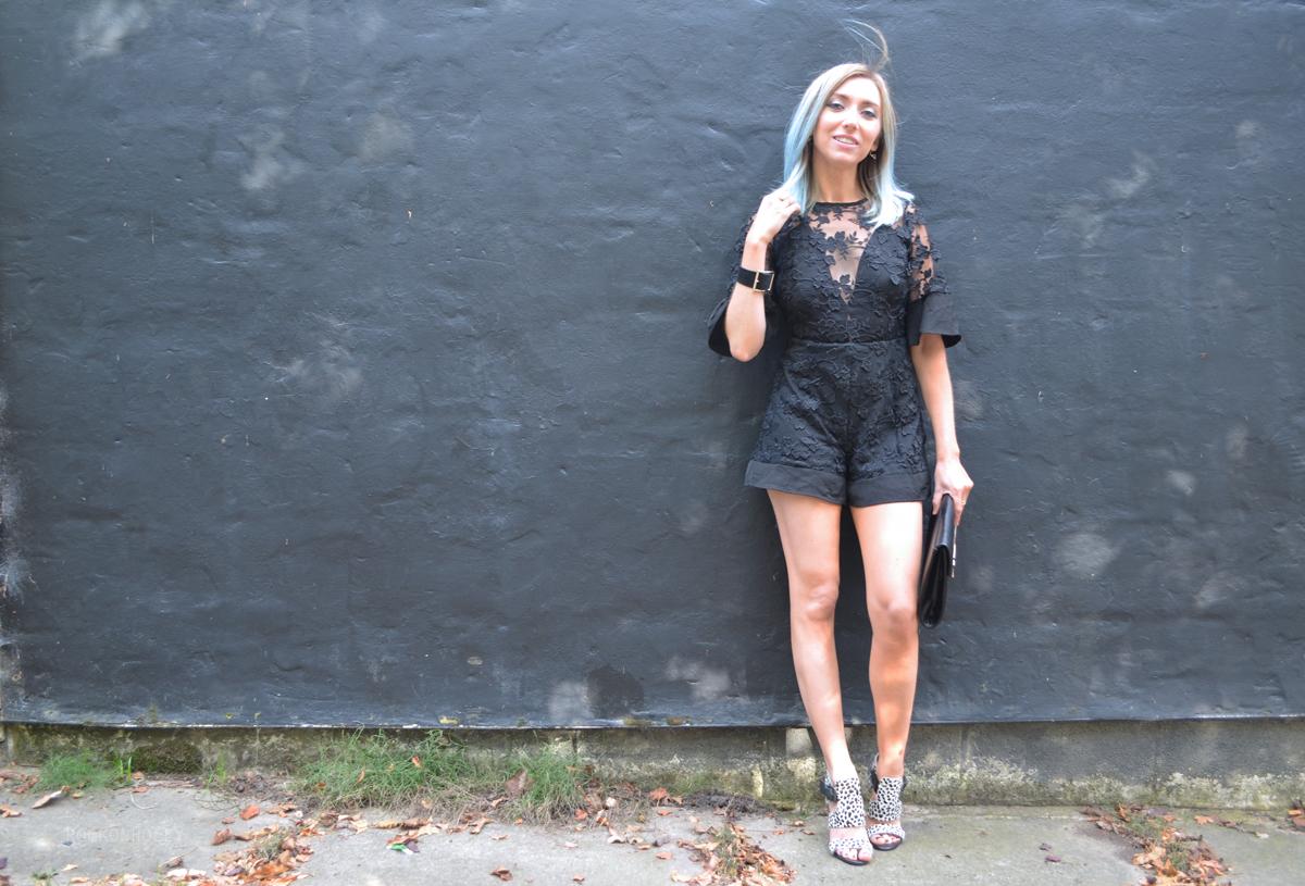 Black Luxemme Playsuit