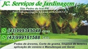 Disk serviço de jardinagem em São Pedro do Ivaí 05/05