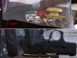 Hudson foi preso usando arma por porte ilegal na madrugada for Interior y policia consulta de arma