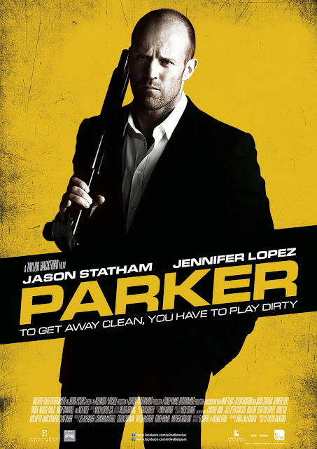 Jason Statham with Shotgun Parker Movie HD Poster