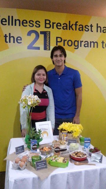 James Younghusband, To Go Wellness Breakfast,