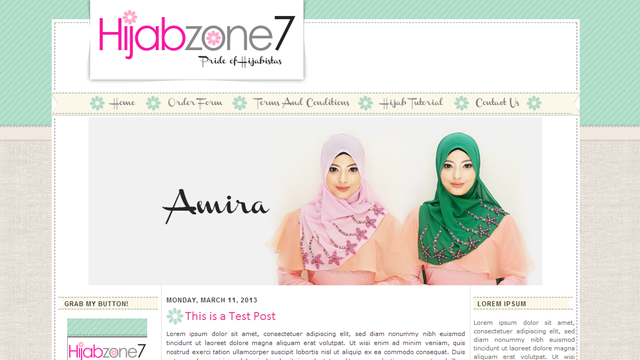 blogshop design
