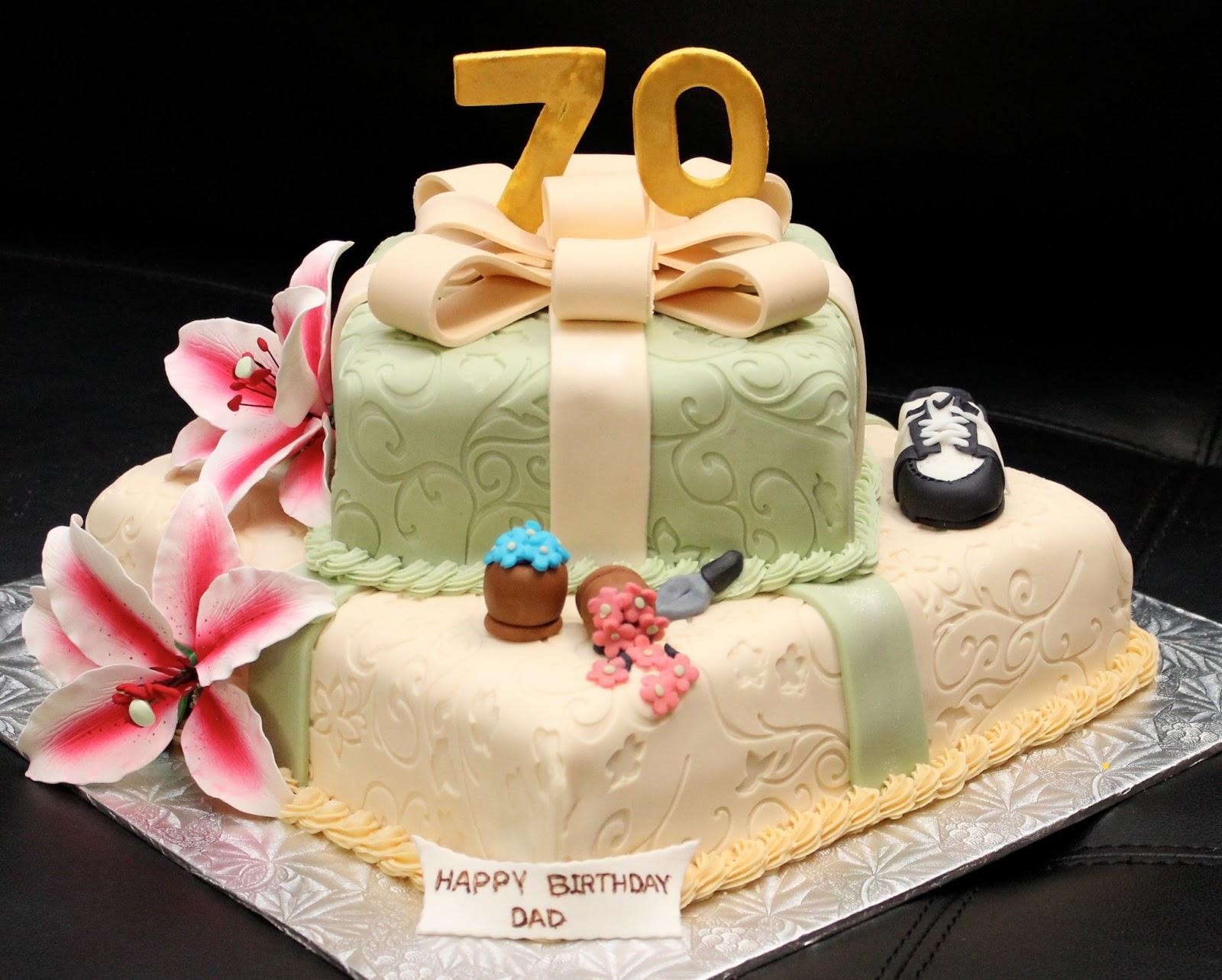 Love Dem Goodies 70th Birthday Cake