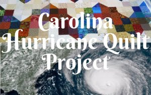Carolina Hurricane Quilt Project
