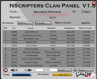 Clan Panel