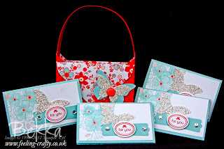My Little Valentine Stamp Set - order now from Bekka Prideaux and you could make this