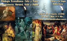 Mitologia Nordica: Odin y Freya.Hermod, Höðr y Balder