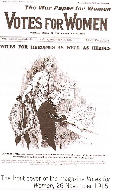 why did women get the vote Why women did not get the vote before 1914 in the times she strove for women's rights she passed, the divorce act of 1857 and the custody of children act in 1839 caroline norton proved that women's brains could handle politics.