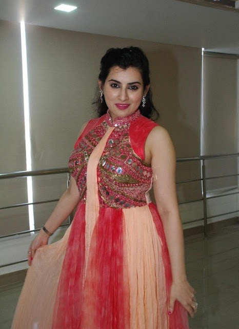 ARCHANA ACTRESS RED GOWN PICS
