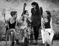 Las Migas en sevilla, actuación el 1 de agosto de 2012 en las Noches de Verano en el Palacio de la Buhaira
