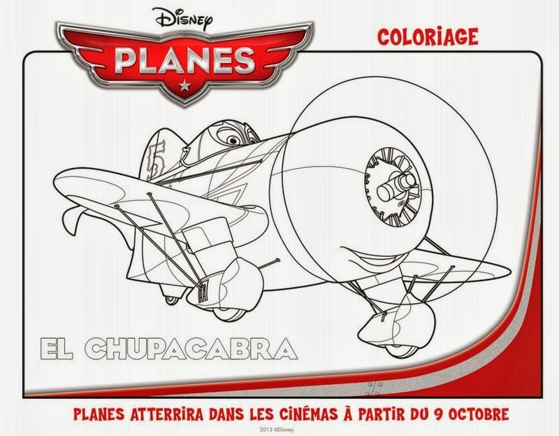 coloriage à imprimer planes - Planes Mes Créations Disney