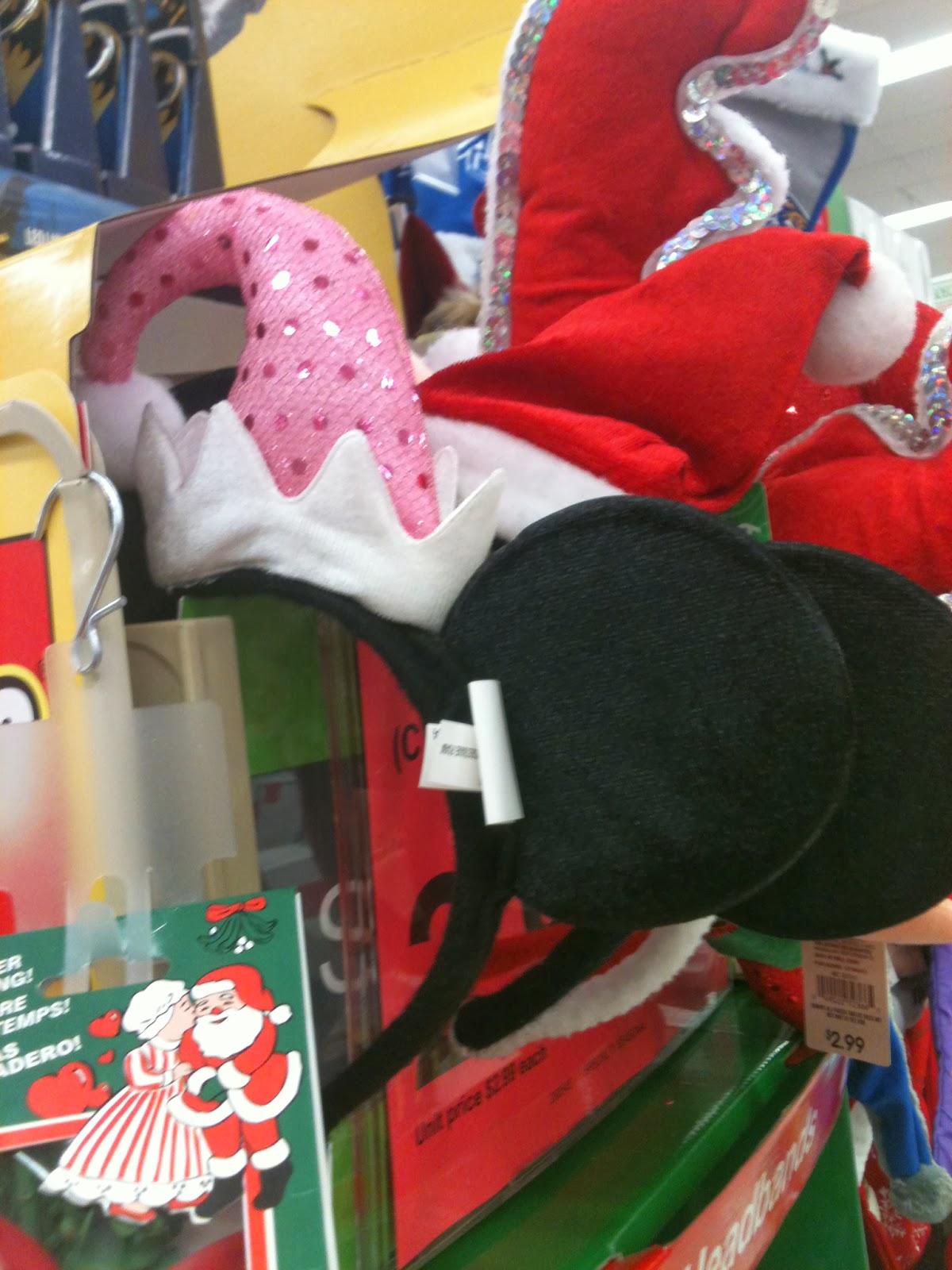 disney christmas goodies at walgreens