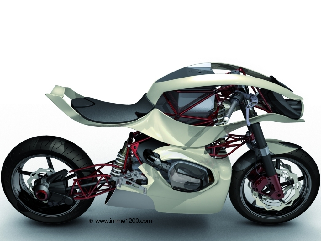 Motorcycle Brands Bmw Imme 1200 Motorcycle Concept